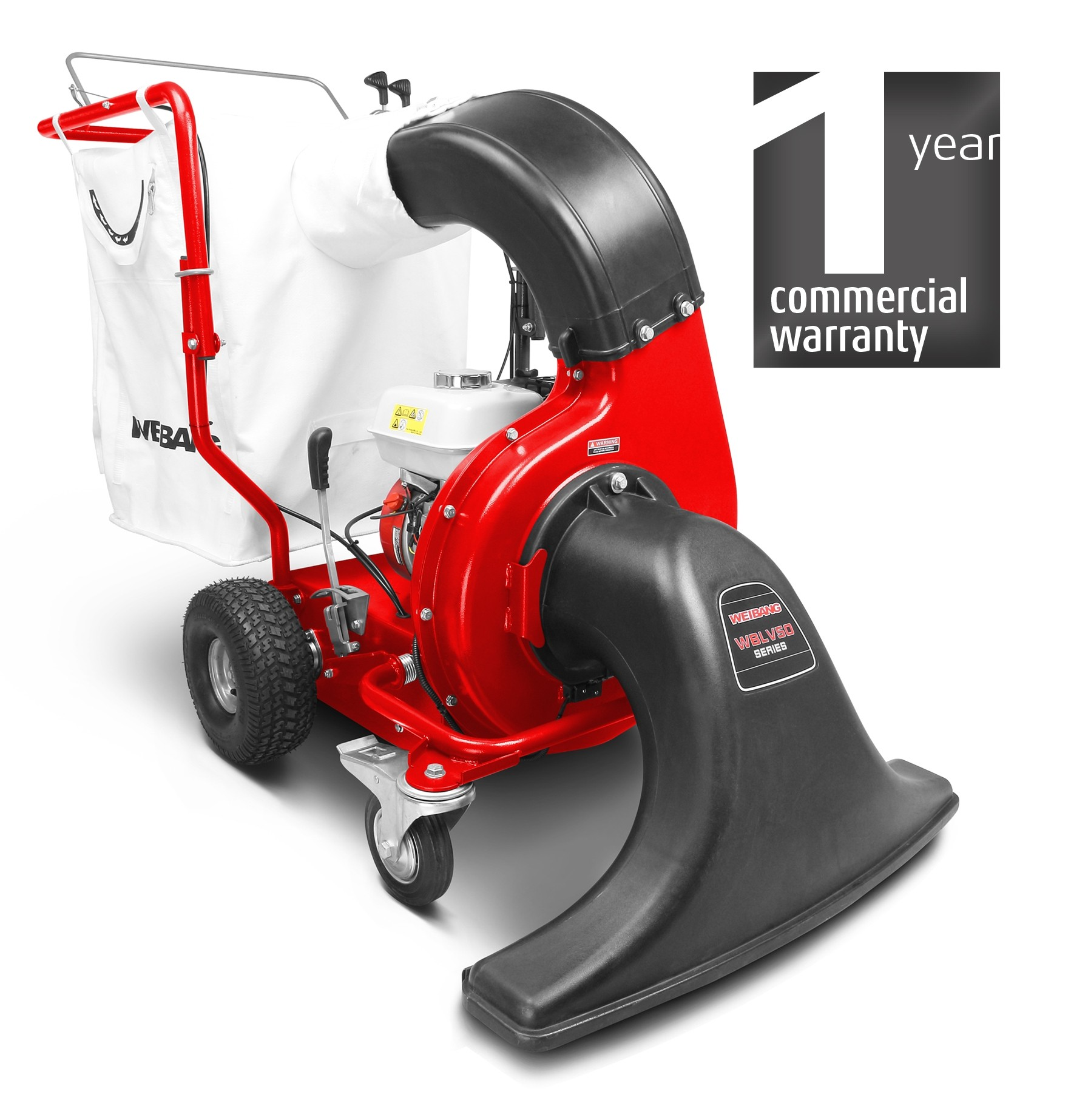 Weibang LV800 PRO leaf and litter vacuum