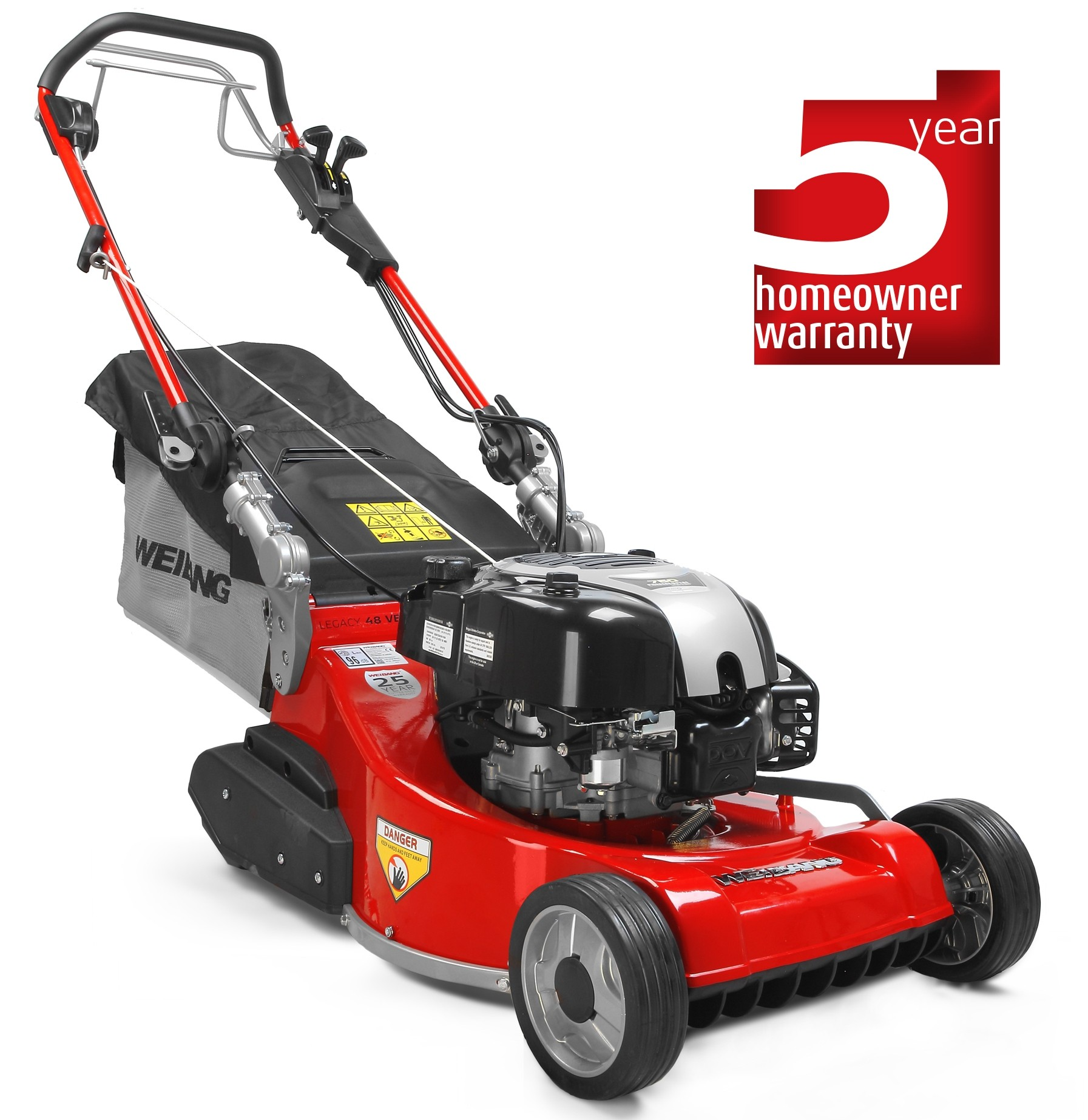 Weibang Legacy 48 VB Petrol Roller Mower with BBC