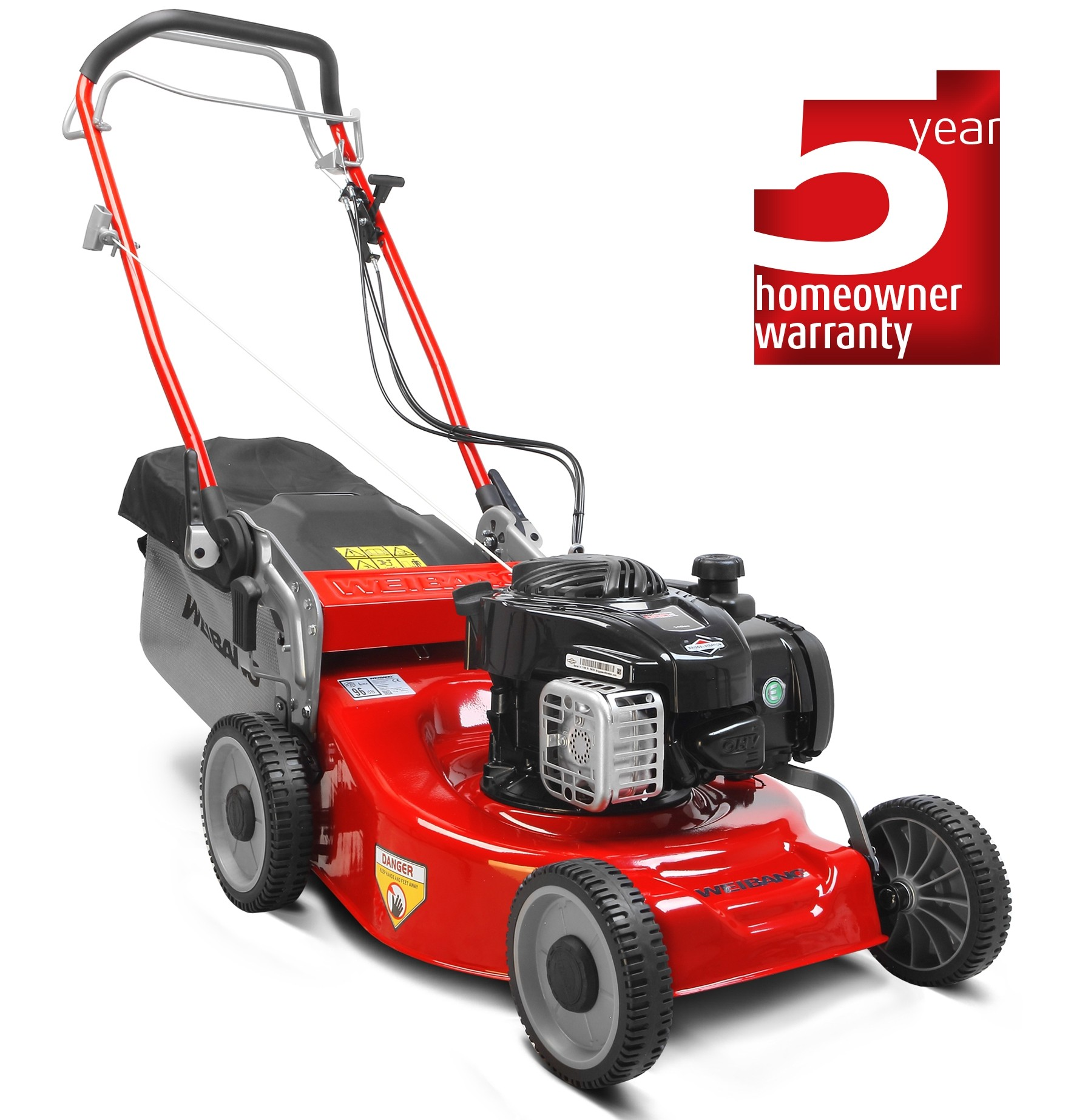 weibang 46 sp petrol lawn mower self propelled. Black Bedroom Furniture Sets. Home Design Ideas