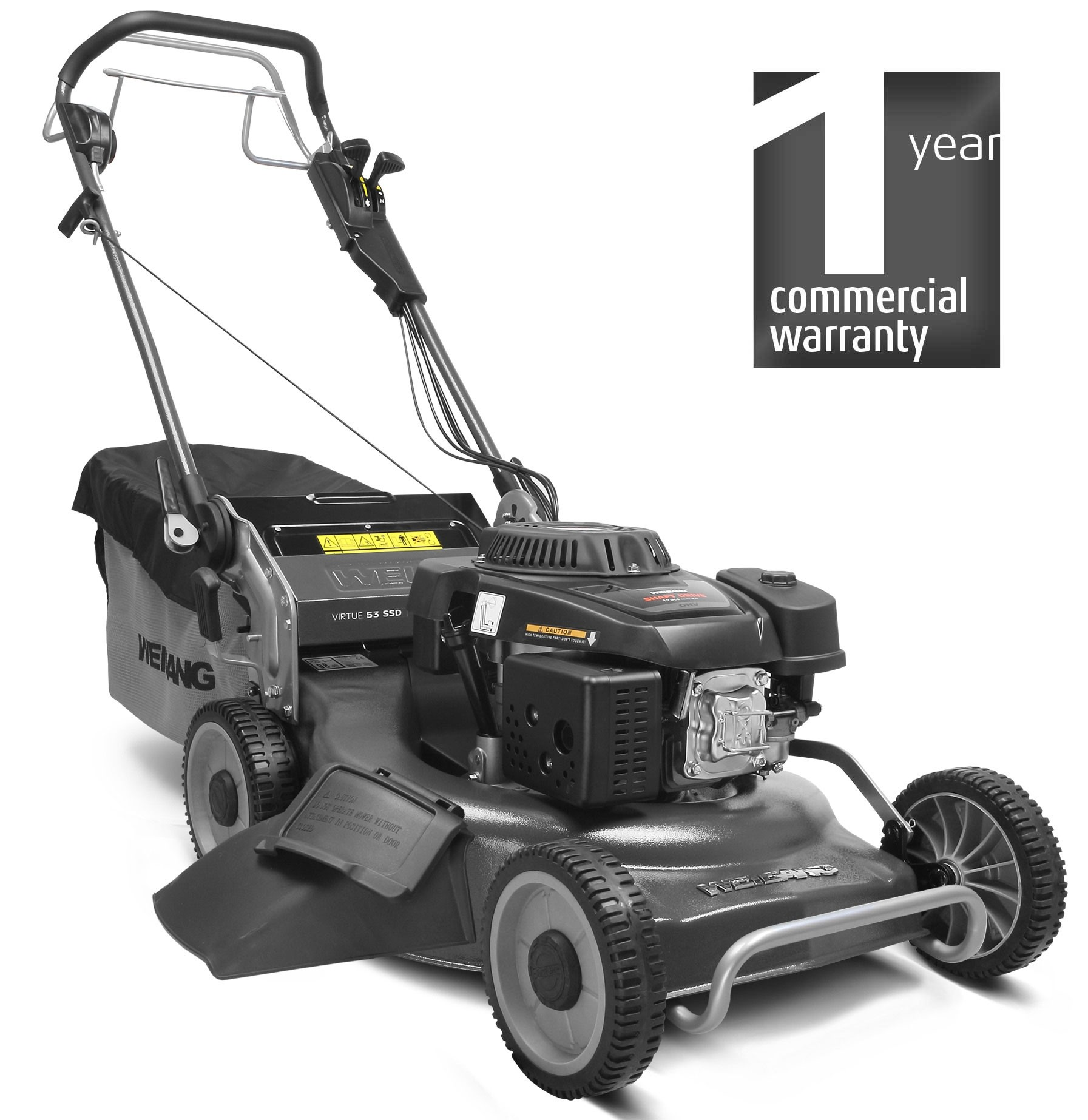 Virtue 53 SSD BBC 3-in-1 Petrol Lawnmower